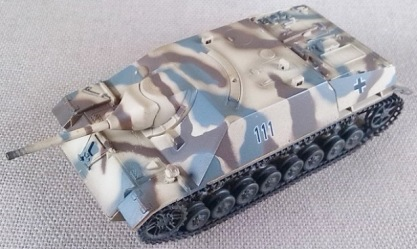 Jagdpanzer IV inicial, escala 1/72, Easy Model