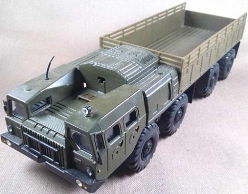 MAZ-7310, Ejército soviético, escala 1/43, Elecon