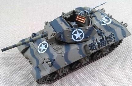 M-10 Wolverine, 894th Tk.Dtr.Btn., Anzio (Italia), 1944, escala 1/72, Hobby Master
