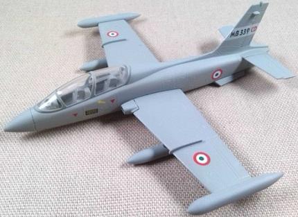 Aermacchi MB.339, AMI, escala 1/100, Italeri