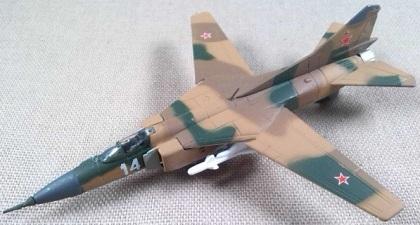 MiG-23, Fuerza Aérea soviética, escala 1/150, DeAgostini