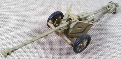 7,5 cm PaK 40, escala 1/72, IXO-Altaya