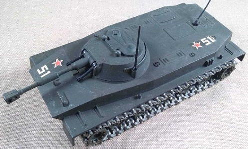 PT-76, Infantería de Marina de la URSS, escala 1/50, Solido