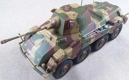 Sd.Kfz.234/2 Puma, 20.Pz.Div., 1944, escala 1/43, Eaglemoss