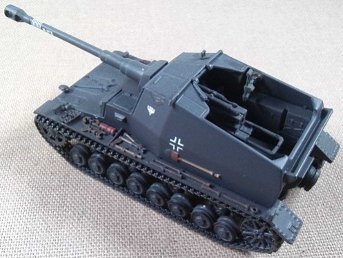 "10,5 cm K.Pz.Sfl.IVa ""Dicker Max"", Pz.Jg.Abt. 521, Stalingrado, 1942, escala 1/72, IXO-Altaya"