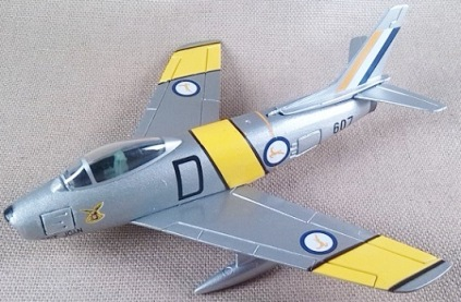 F-86F del 2nd Sqn de la SAAF (South African Air Force), escala 1/100, Italeri