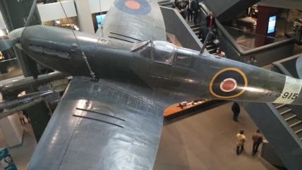 Spitfire expuesto en el Imperial War Museum de Londres