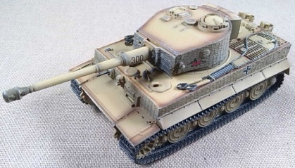 Tiger I, escala 1/72, Dragon Armor