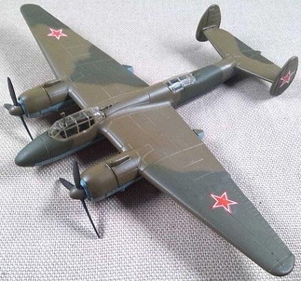 Tu-2, Fuerza Aérea soviética, escala 1/120, DeAgostini