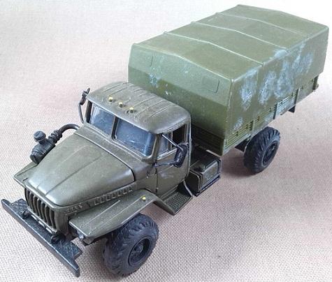 Ural-4320, Ejército soviético, escala 1/43