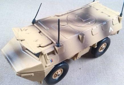 VAB-VTT 4x4, Ejército francés, Irak, 2001, escala 1/50, Solido