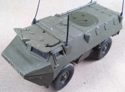 VAB-VTT 4x4, Ejército francés, escala 1/50, Solido