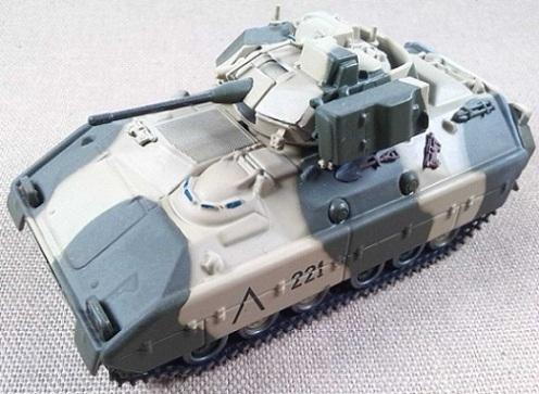M-2 Bradley, 24th Mech.Cav.Div., Arabia Saudita, 1991, escala 1/72, IXO-Altaya