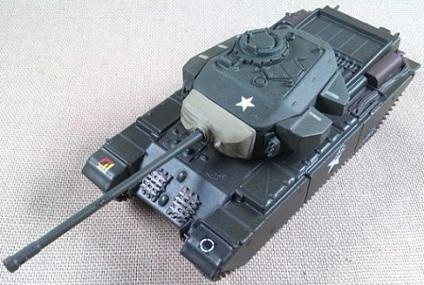 Centurion Mk.III, 8th King's Royal Irish Hussars, Corea, 1950, escala 1/72, IXO-Altaya