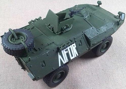 FIAT-Iveco 6614 del Ejército italiano, 1/43, Criel-DeAgostini