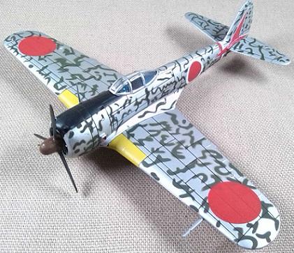 Nakajima Ki-43-II Hayabusa, escala 1/72, IXO-Altaya
