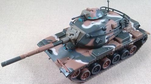 M-60A3, 5th Inf.Div., Alemania, 1985, escala 1/72, IXO-Altaya