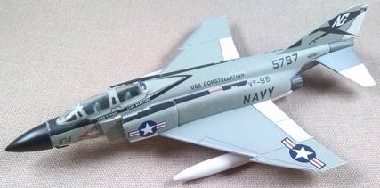 F-4B US Navy, USS Constellation, VF-96, escala 1/100, Italeri