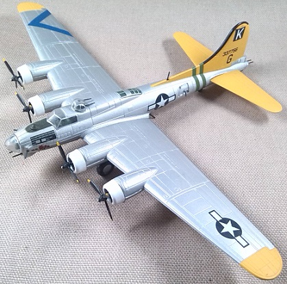 B-17G, 779th BS, 1/160, Model Power