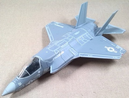 F-35 Lightning II, 33rd FW, USAF, escala 1/100, Italeri