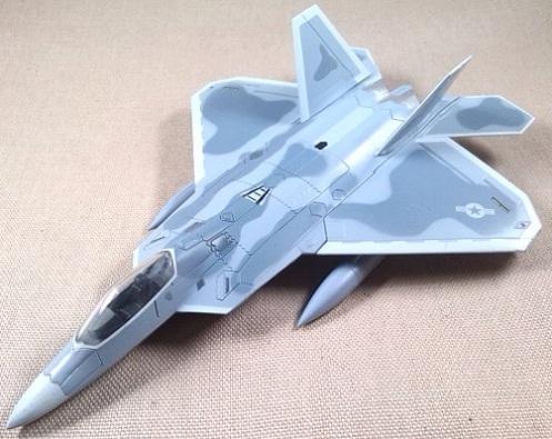 F-22 Raptor, USAF, 49th FW, New Mexico, escala 1/100, Italeri