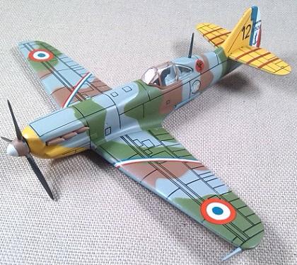 D.520, Armée de l'Air, 1940, 1/72, IXO-Altaya