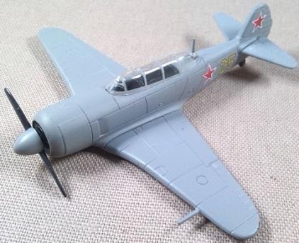 Yak-11 de la Fuerza Aérea soviética, 1/76, DeAgostini