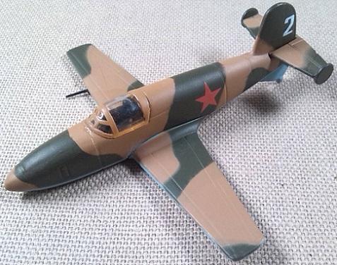 avión cohete BI-1, 1/87, DeAgostini