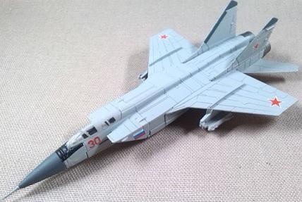 MiG-31, Fuerza Aérea soviética, 1/144, DeAgostini