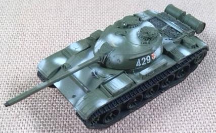 T-54A modelo 1951, Ejército soviético, 1/144, Trumpeter