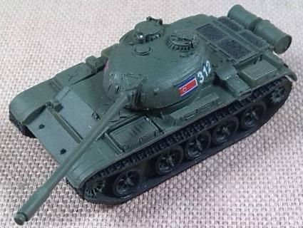 T-54B modelo 1952, Ejército de Corea del Norte, 1/144, Trumpeter