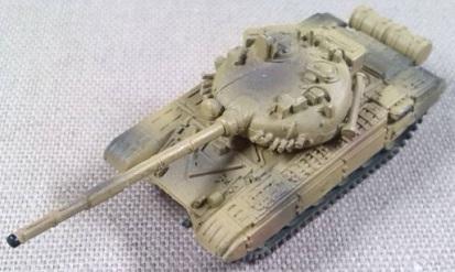 T-72, Ejército sirio, 1/144, Trumpeter