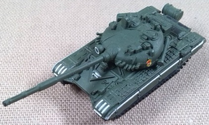 T-72M1, Ejército soviético, 1/144, Trumpeter