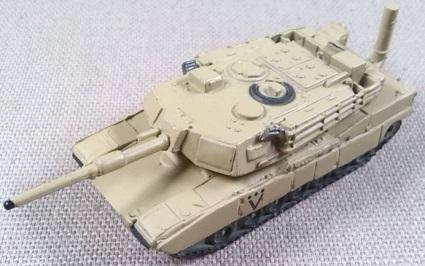 M1A1, US Army, Desert Storm 1991, escala 1/144, Trumpeter