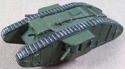 """Mark IV """"Male"""", escala 1/87 - Andrea Miniatures"""