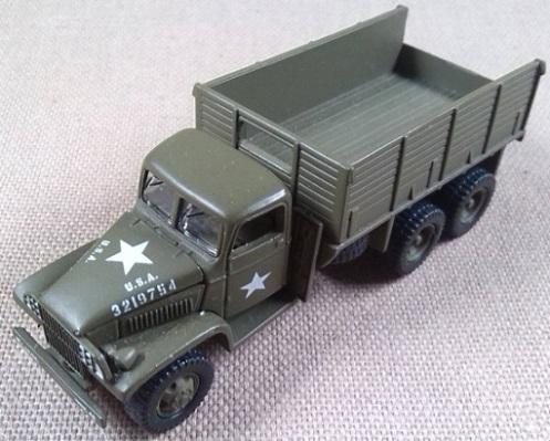 GMC CCKW-352, US Army, escala 1/100, Johnny Lightning
