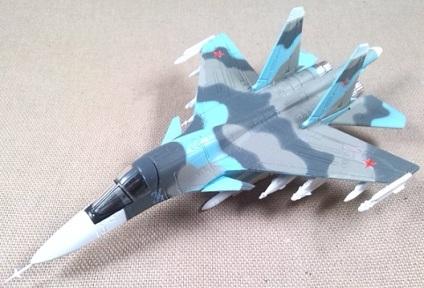 Su-34, Fuerza Aérea soviética, escala 1/160, DeAgostini