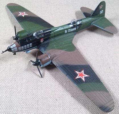 Il-4, Fuerza Aérea soviética, escala 1/130, DeAgostini