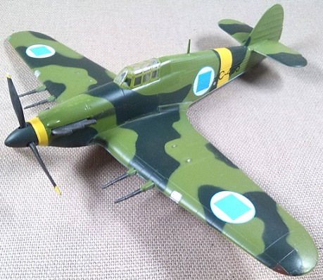 Hurricane Mk.II, Fuerza Aérea finlandesa, 1942, escala 1/72, Easy Model
