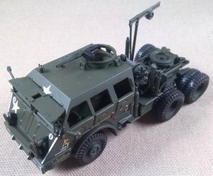 cabeza tractora M-26 Dragon Wagon, US Army, escala 1/72, IXO-Altaya
