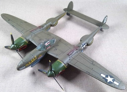 Lockheed P-38J, USAF, 20th FG, escala 1/72, IXO-Altaya