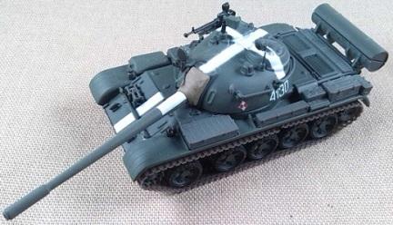 T-55, Ejército polaco, 1968, escala 1/72, IXO-Altaya