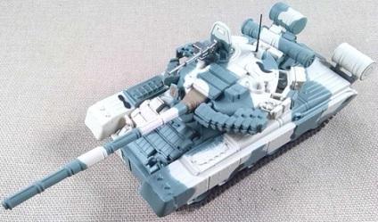 T-80BV, 4ª Div. de Tanques de la Guardia, URSS, 1990, escala 1/72, IXO-Altaya