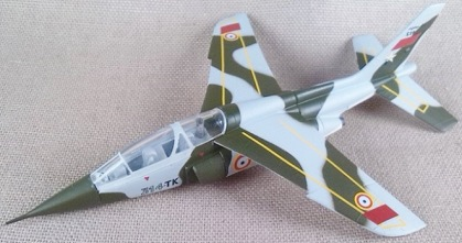 Alpha Jet de l'Armée de l'Air, escala 1/100, Model Power