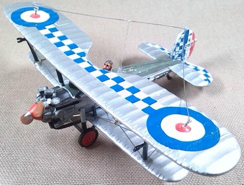 Bristol Bulldog del 141st Sqn de la RAF, escala 1/72, DeAgostini