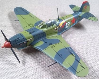Yak-9 de la Fuerza aérea soviética, escala 1/72, IXO-Altaya