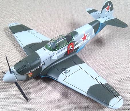 Yakovlev Yak-3, Fuerza Aérea soviética, escala 1/72, IXO-Altaya