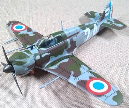 Bloch MB.152 del GC.I/1, Armée de l'Air, 1940, escala 1/72, IXO-Altaya