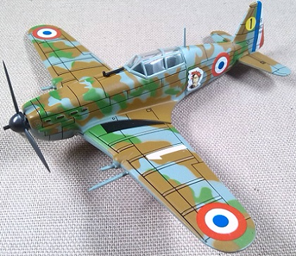 MS.406C-1, Armée de l'Air, escala 1/72, IXO-Altaya