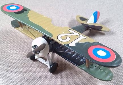 Nieuport 28 del US Army Air Service en la I guerra mundial, escala 1/72, DeAgostini